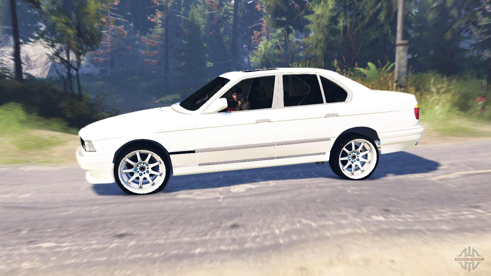 750Li E38 v60 for Spin Tires
