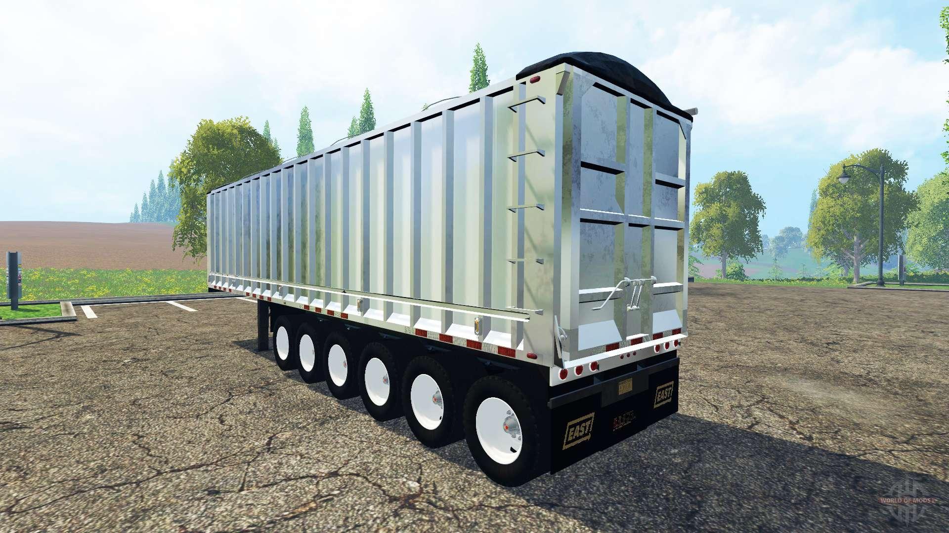 2 Axle Truck : The six axle semi trailer truck v for farming simulator