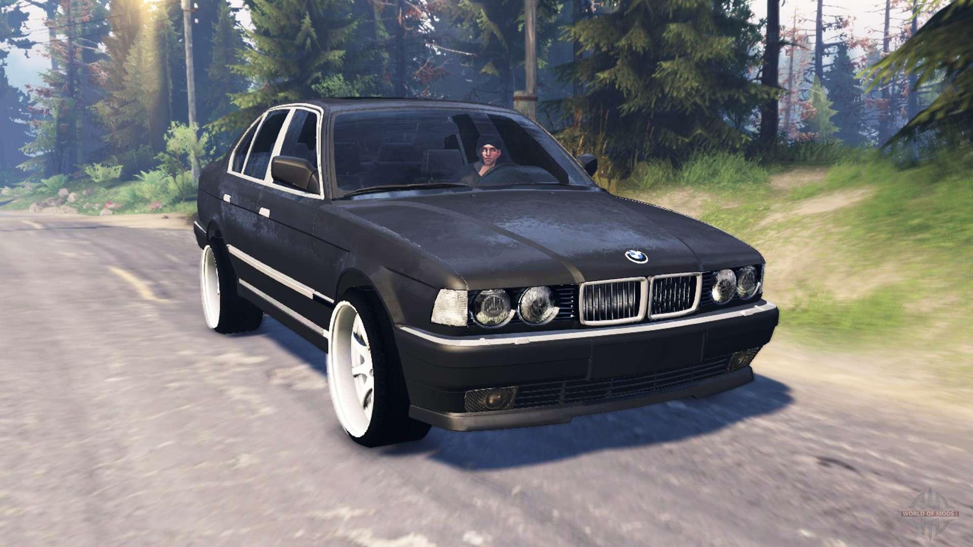 BMW 750Li E38 v50 for Spin Tires