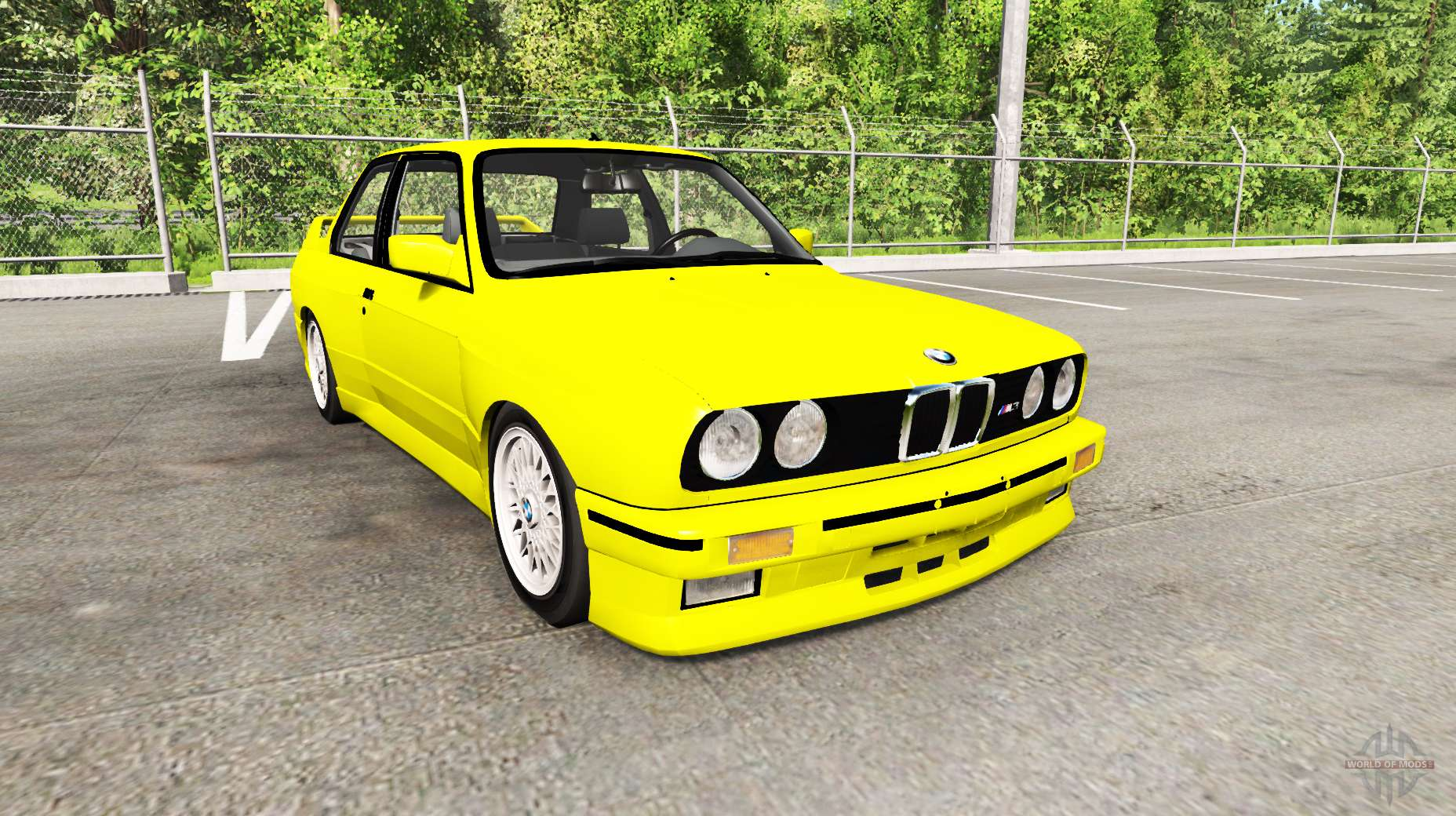 Dr Car: BMW M3 (E30) For BeamNG Drive