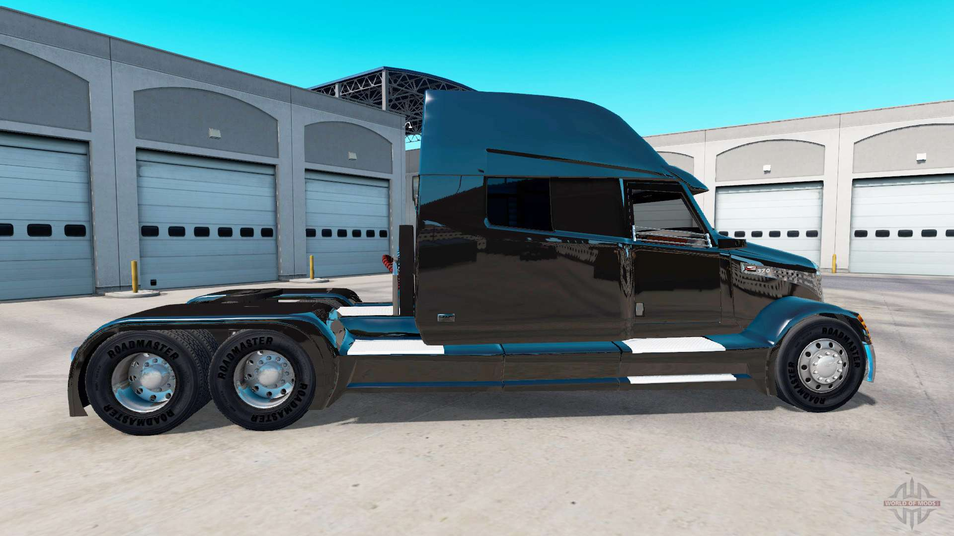 concept truck black edition for american truck simulator. Black Bedroom Furniture Sets. Home Design Ideas