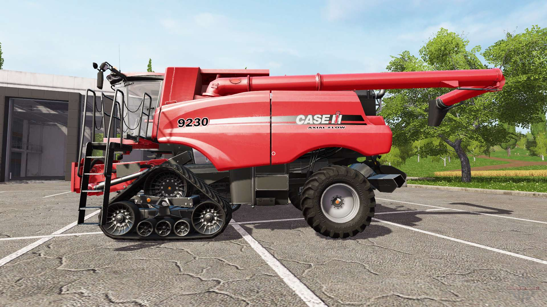 Case International Harvester : Case ih axial flow v for farming simulator
