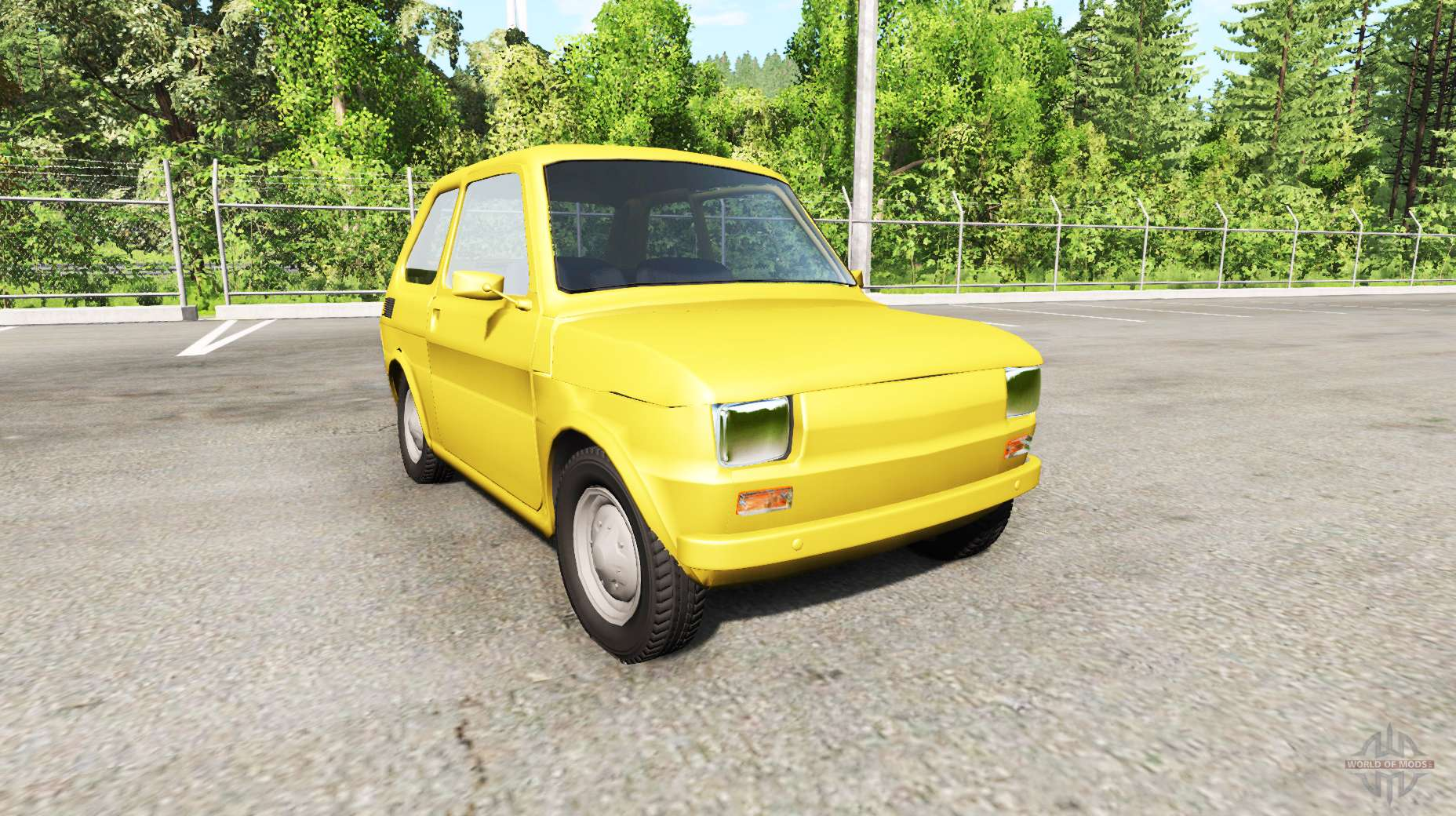 Dr Car: Fiat 126p For BeamNG Drive