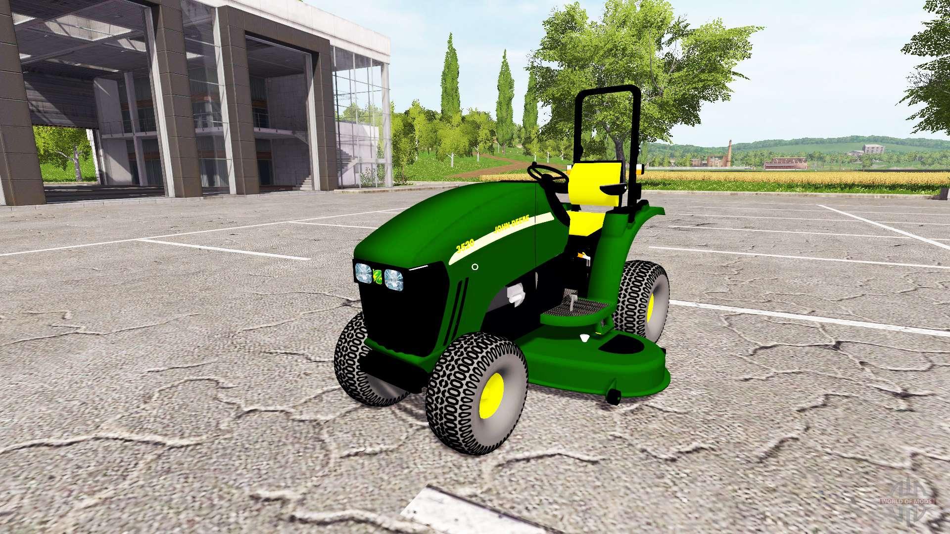 John Deere 3520 Mower For Farming Simulator 2017