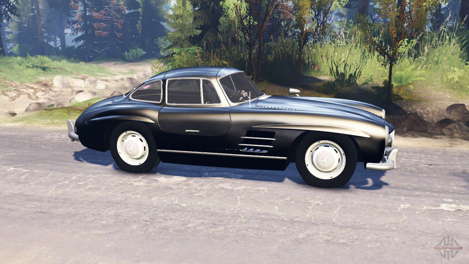 Mercedes benz 300 sl w198 v2 0 for spin tires for Mercedes benz tire