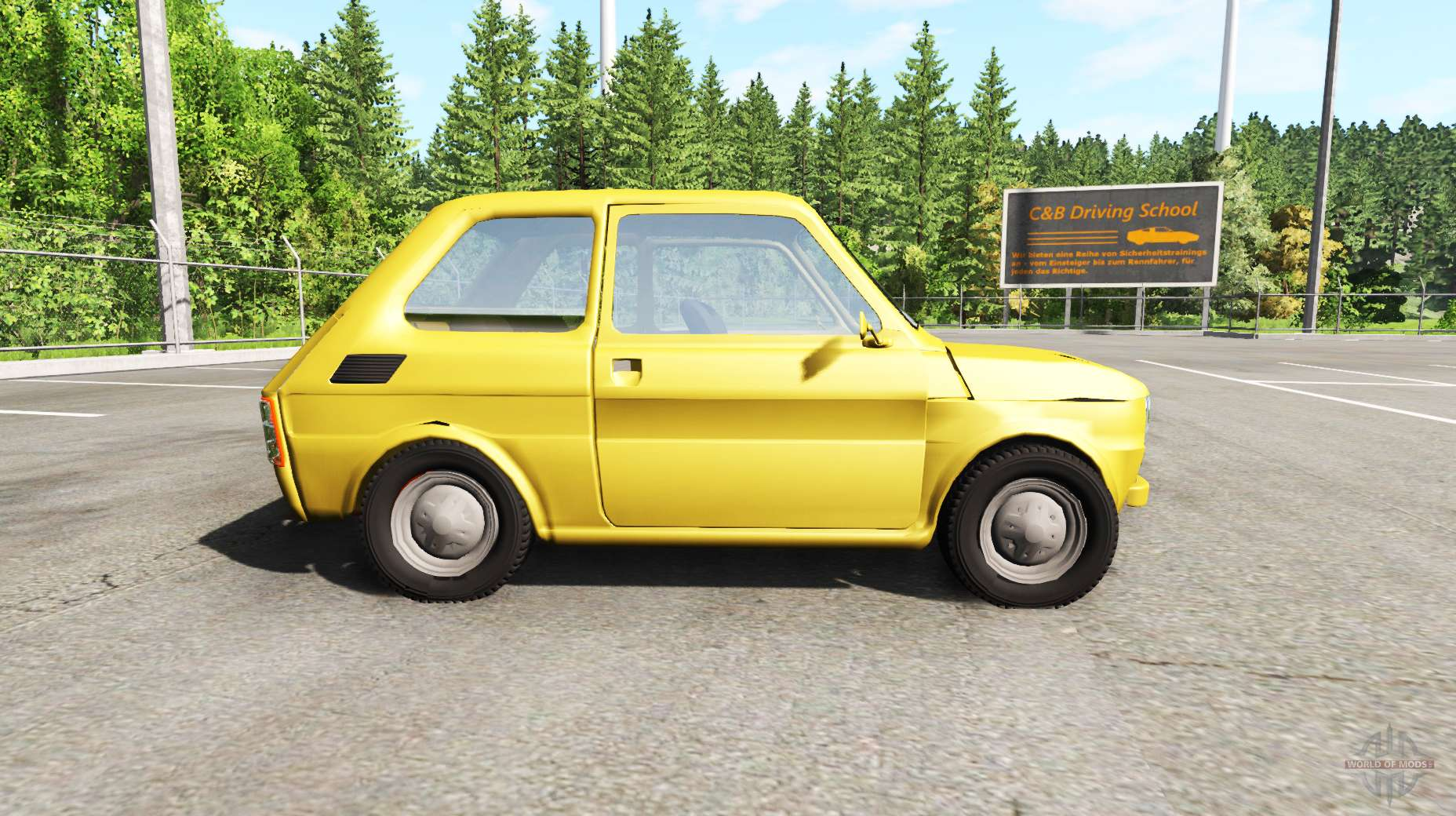 fiat 126p for beamng drive. Black Bedroom Furniture Sets. Home Design Ideas