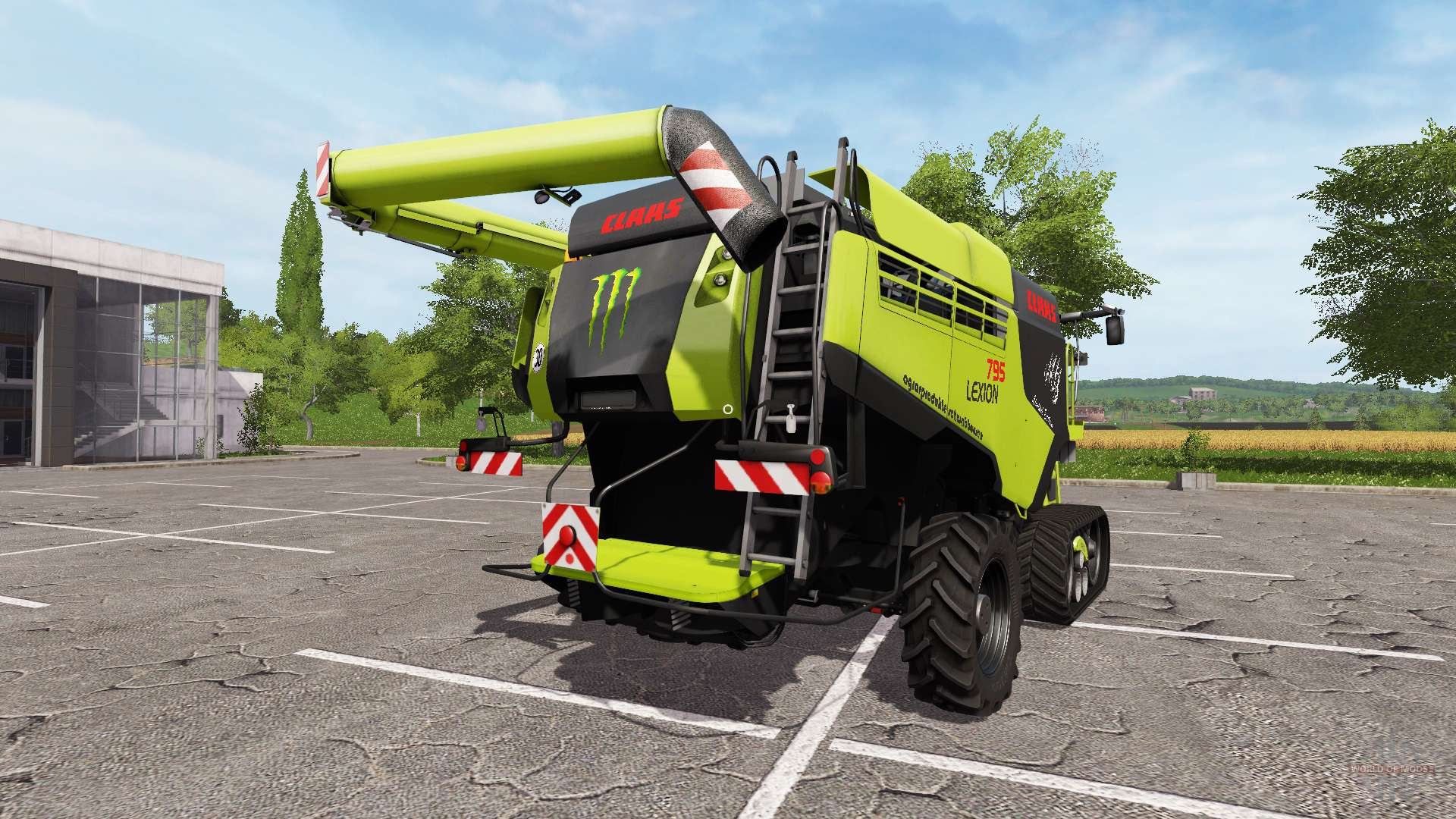 claas lexion 795 limited edition for farming simulator 2017. Black Bedroom Furniture Sets. Home Design Ideas