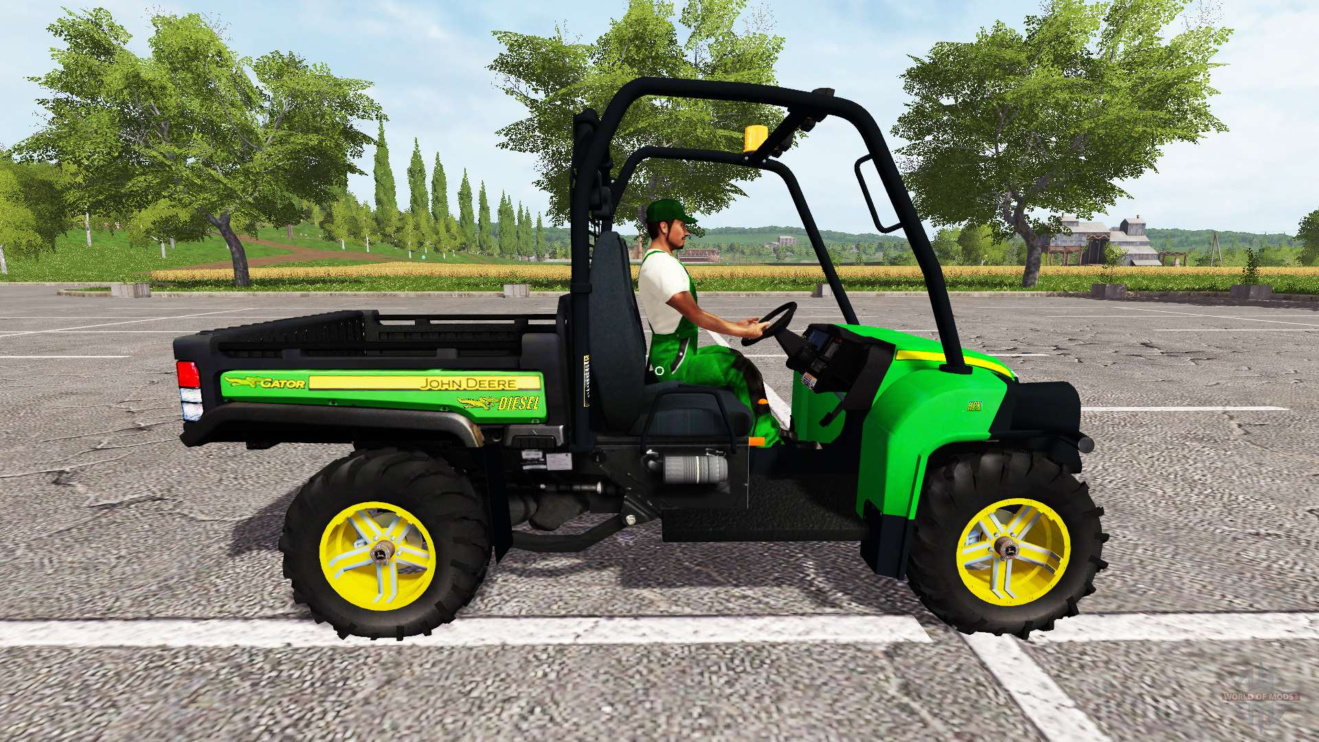john deere gator 825i for farming simulator 2017. Black Bedroom Furniture Sets. Home Design Ideas