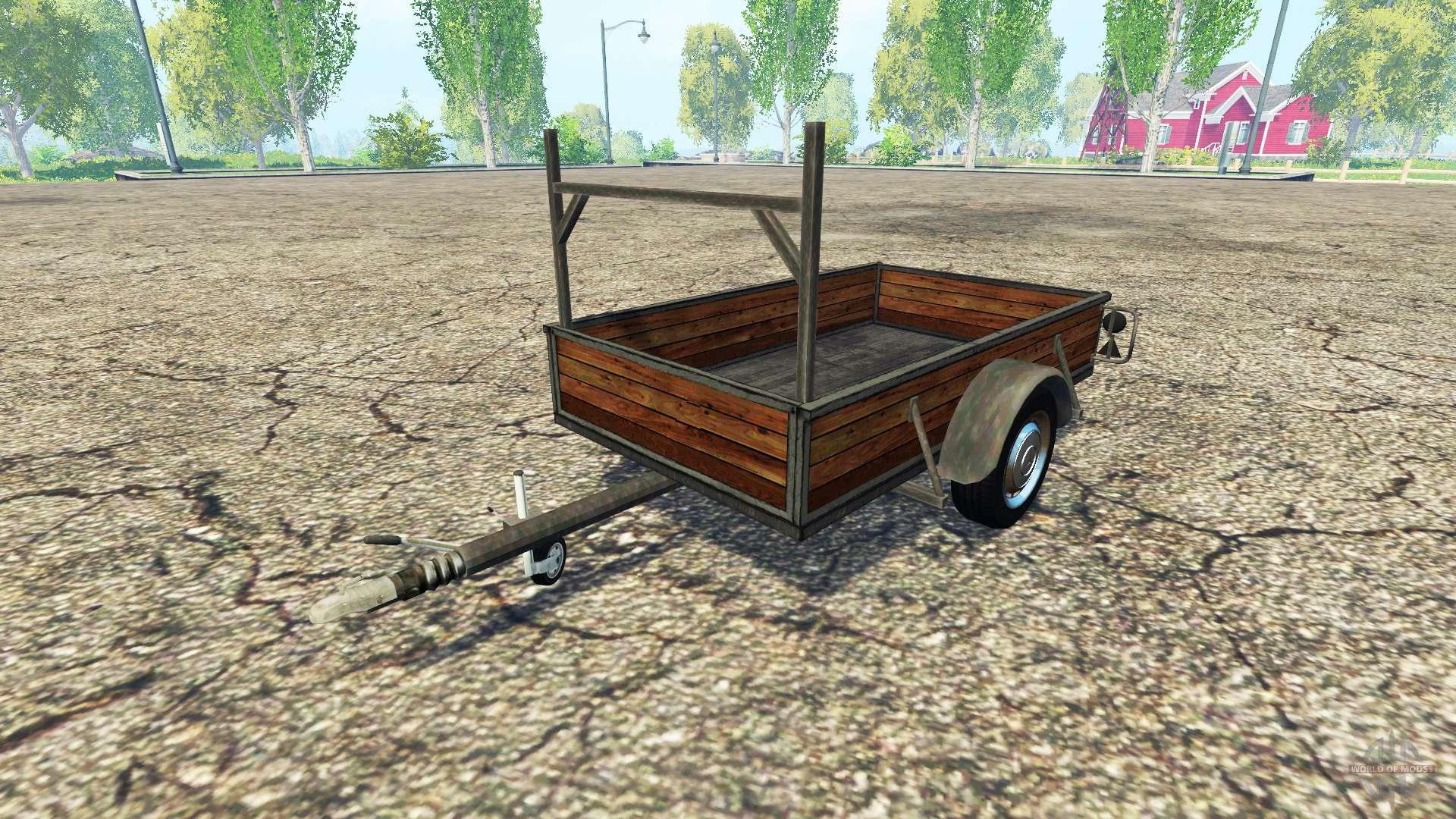 single axle trailer v1 2 for farming simulator 2015. Black Bedroom Furniture Sets. Home Design Ideas