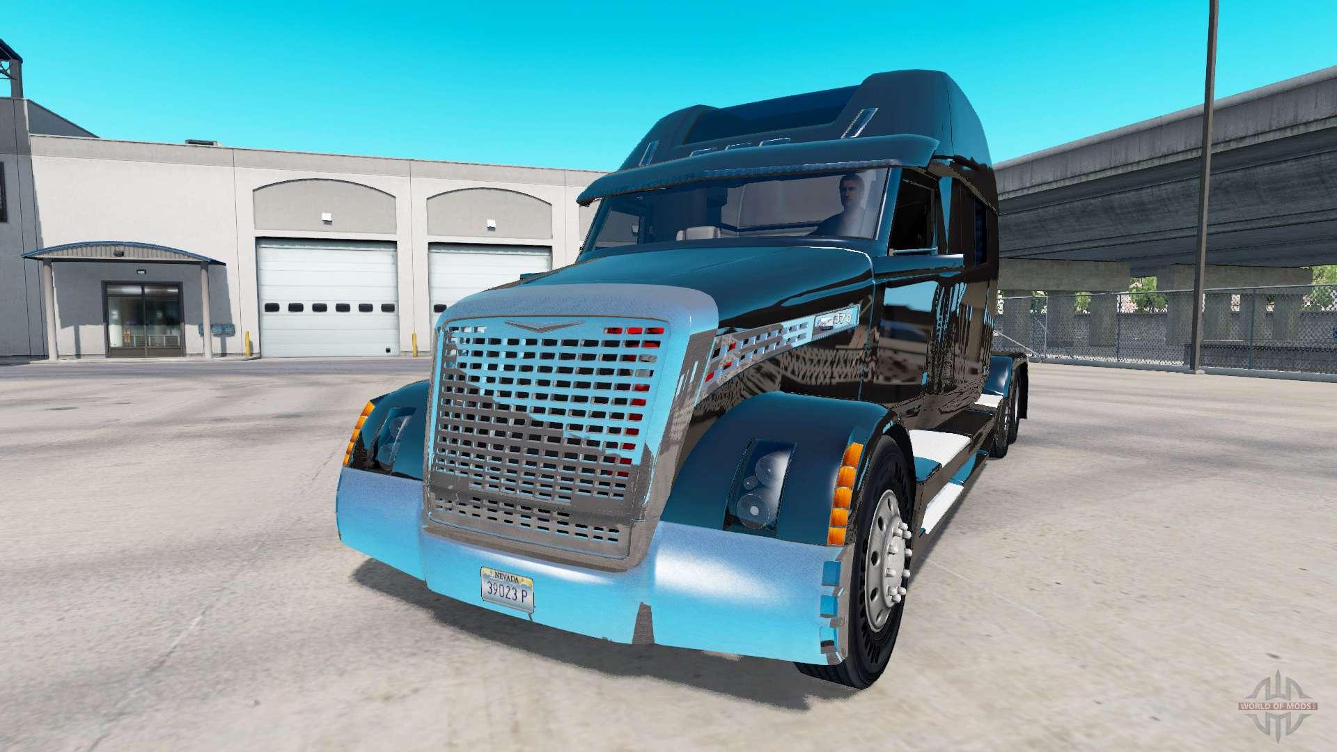 Concept Truck Black Edition For American Truck Simulator