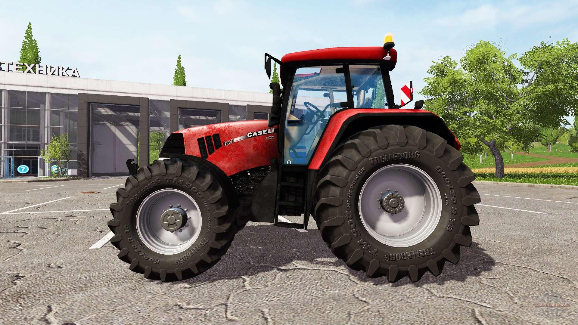 Case IH Puma 160 CVX v2.1 for Farming Simulator 2017