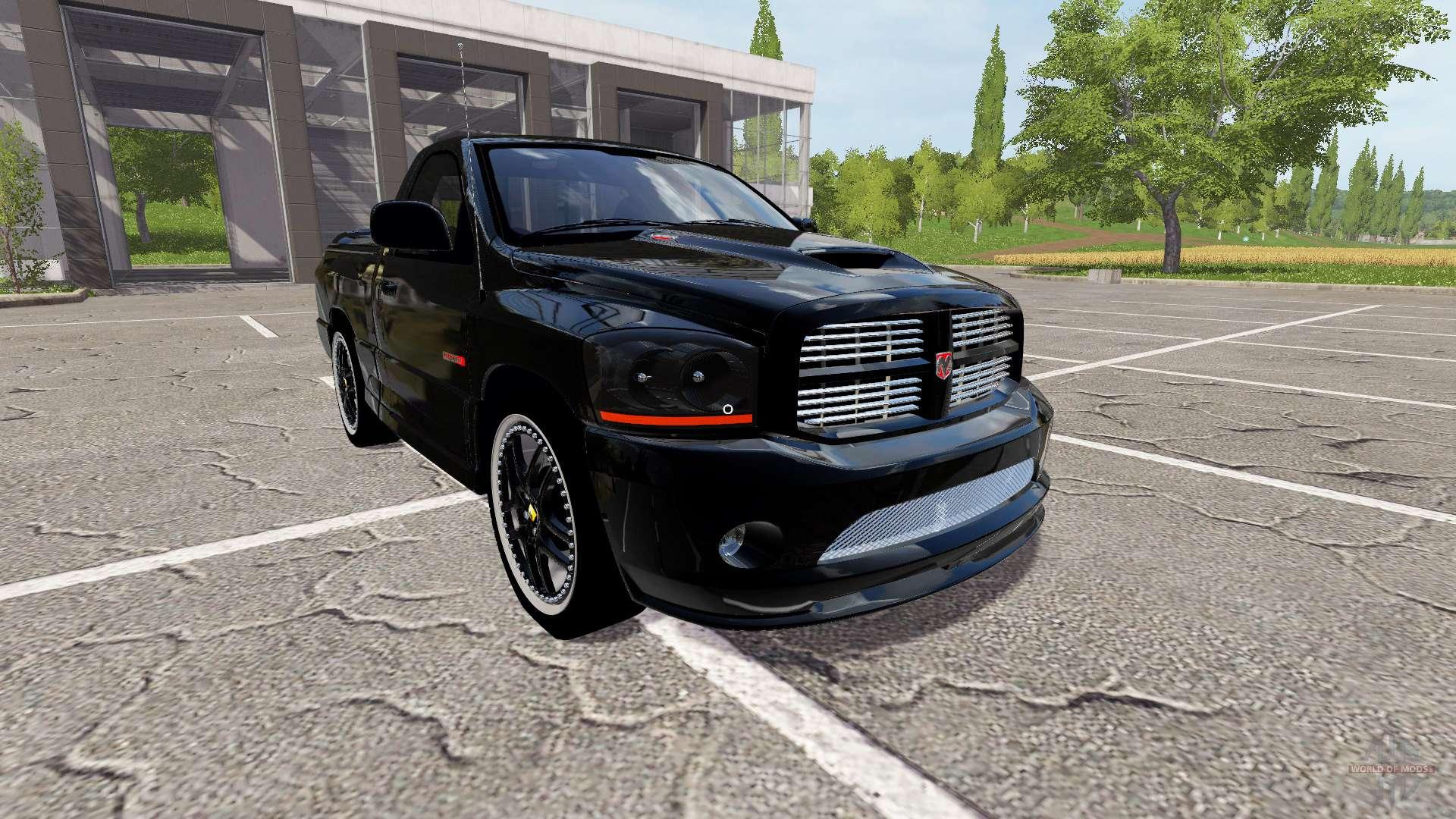 Dodge Ram SRT 10 for Farming Simulator 2017