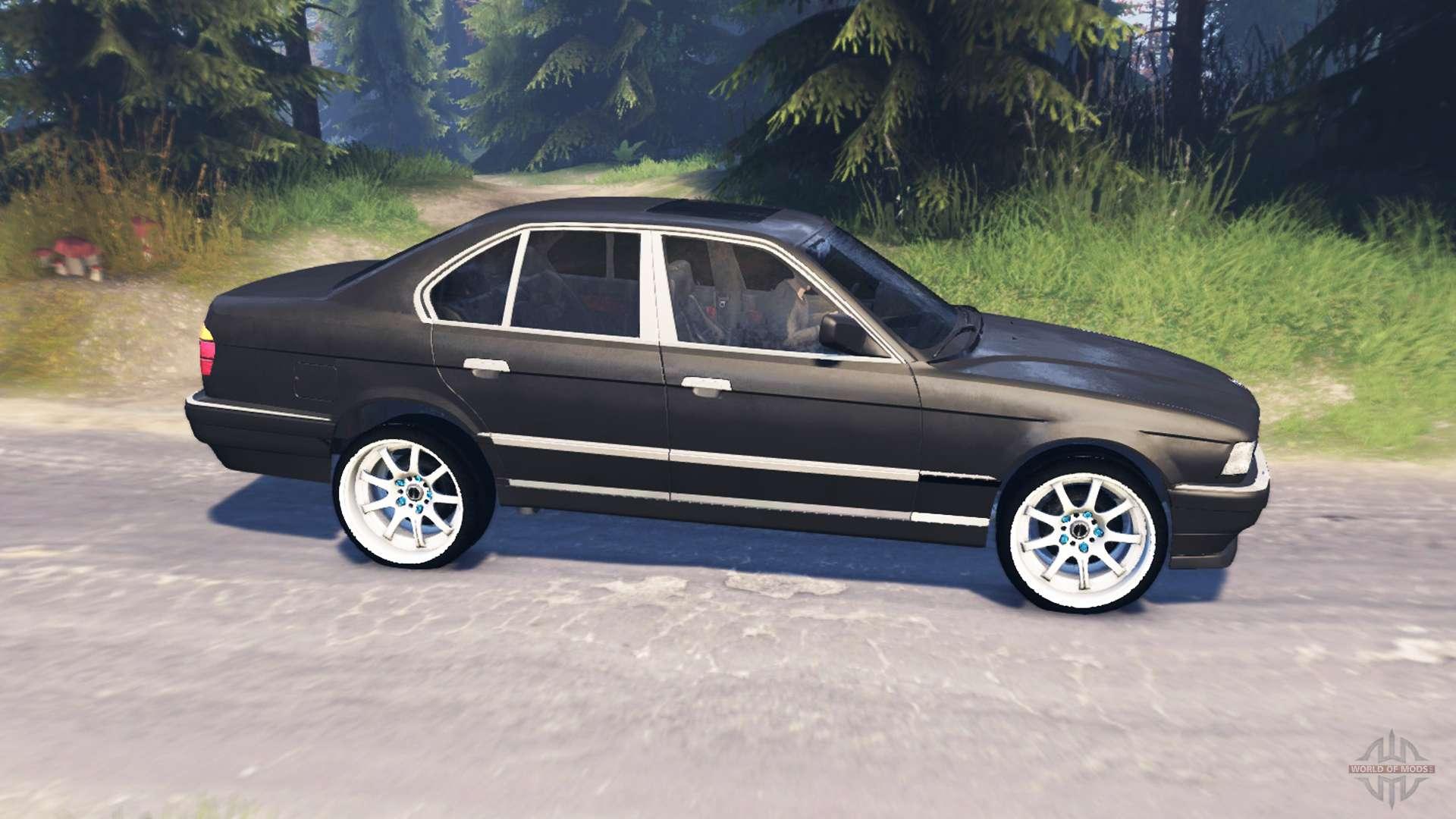 750Li E38 v50 for Spin Tires