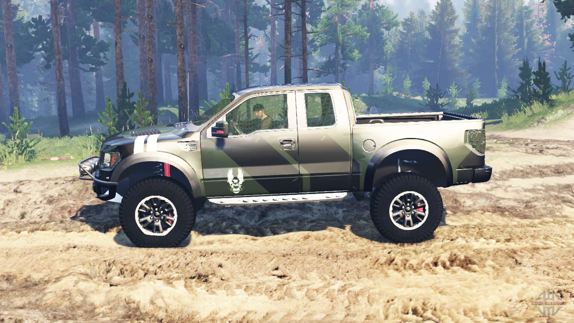 ford f 150 svt raptor super cab for spin tires. Black Bedroom Furniture Sets. Home Design Ideas