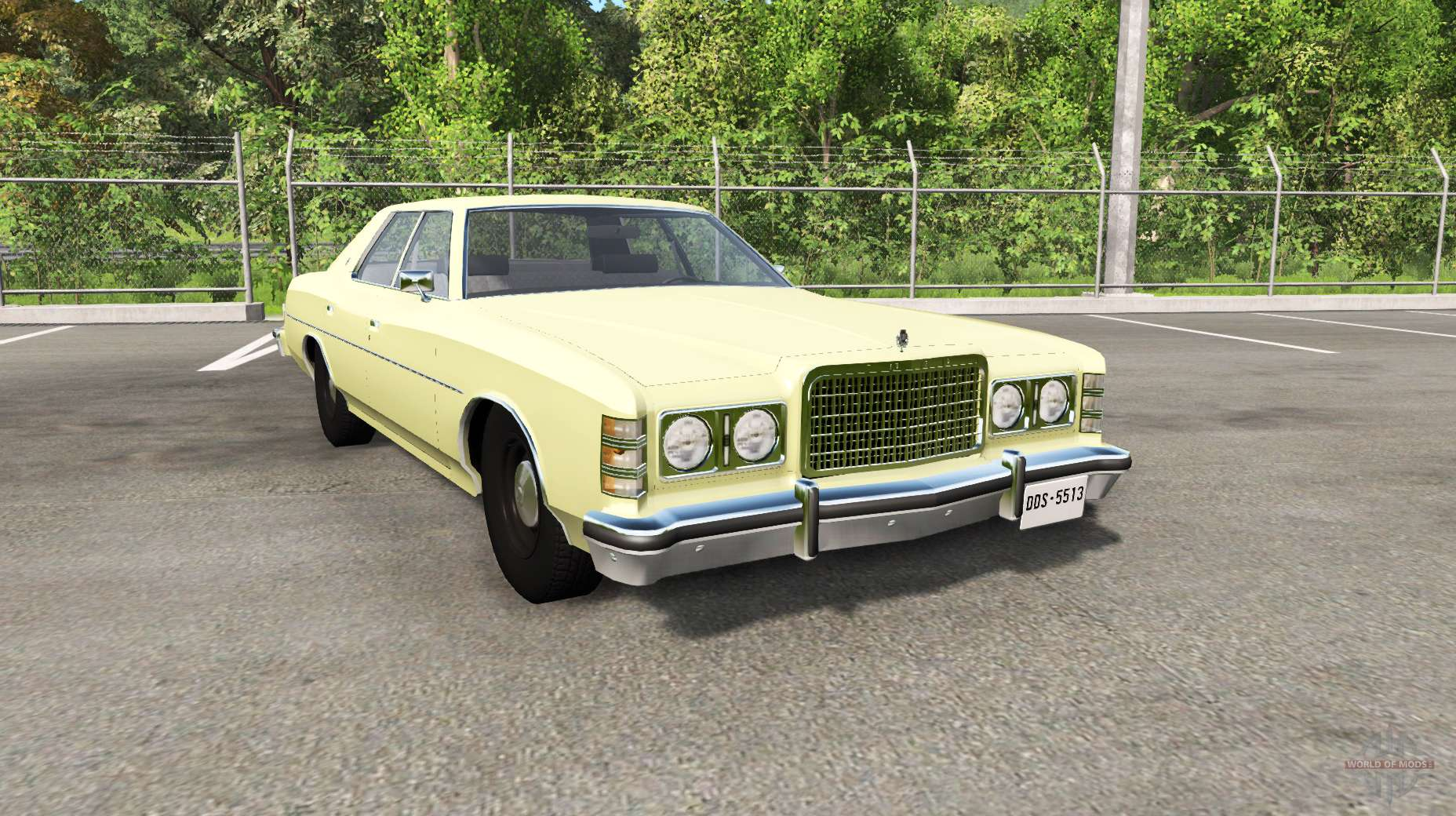 Ford LTD 1975 v1.1 for BeamNG Drive