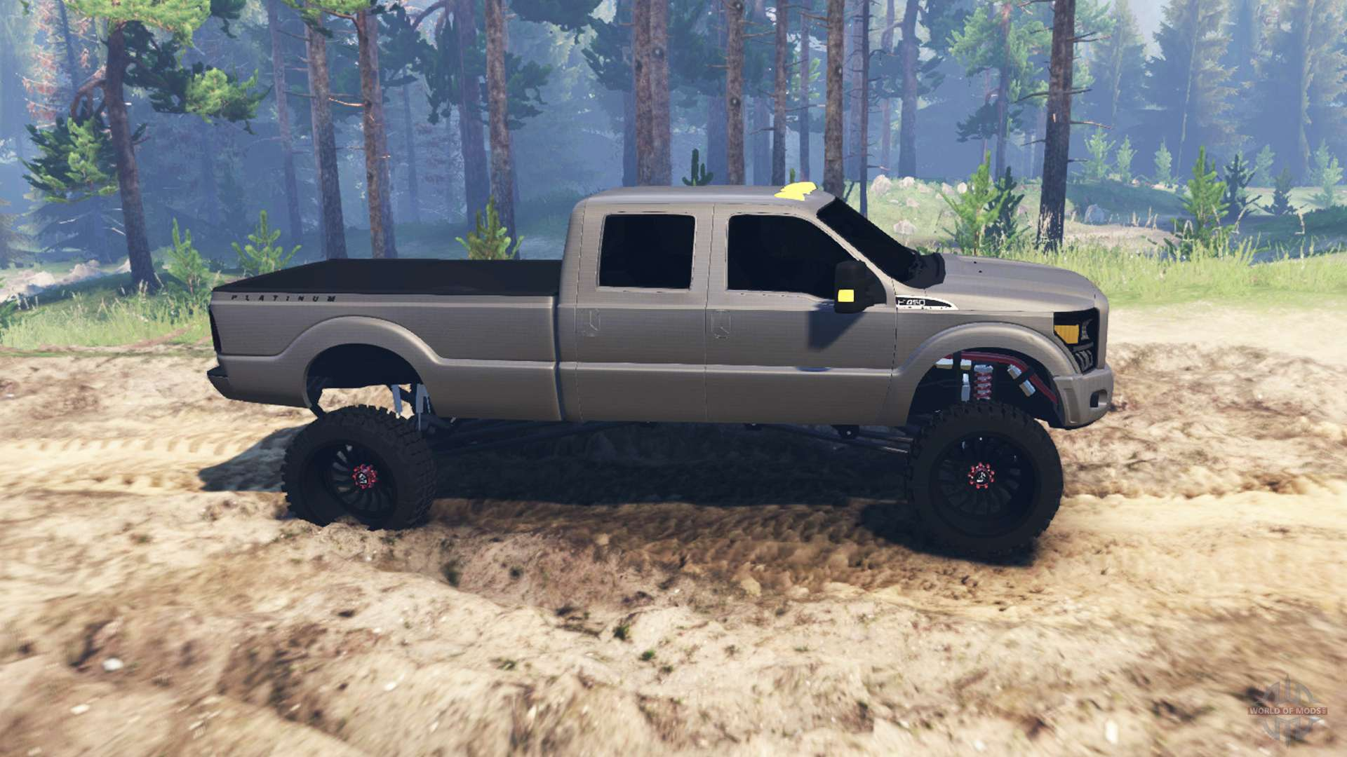 Ford f 450 super duty for spin tires