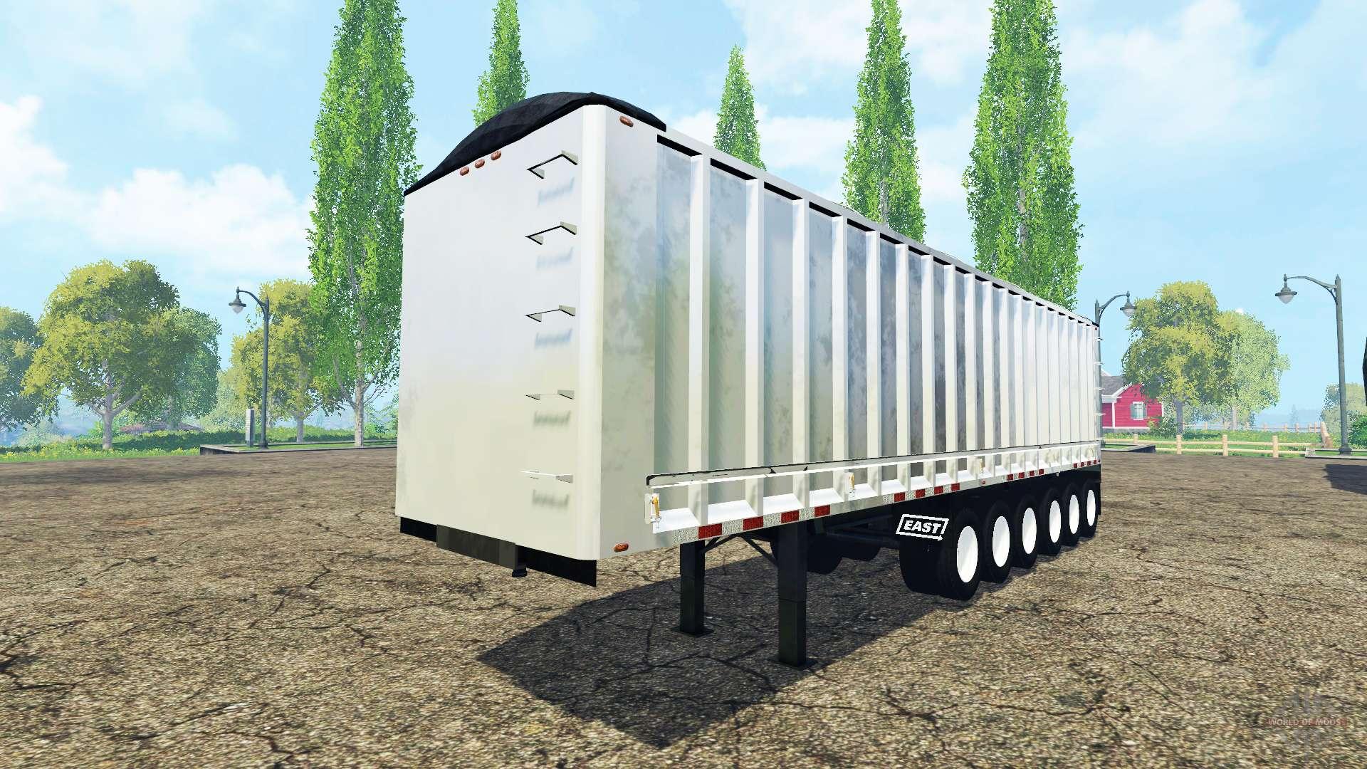 Six Axle Truck : The six axle semi trailer truck v for farming simulator