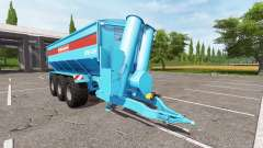 BERGMANN GTW 430 multicolor for Farming Simulator 2017