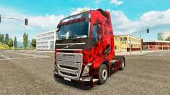Demon Skull skin for Volvo truck