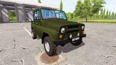UAZ 469 for Farming Simulator 2017