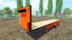 The semitrailer-platform Colas
