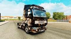 Skin Horror Night on a tractor unit Renault Premium for Euro Truck Simulator 2