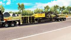 Low sweep with the load of the excavator for American Truck Simulator