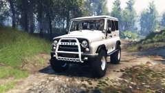 UAZ 315195 hunter v3.0 for Spin Tires