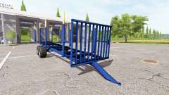 Timber trailer v1.5 for Farming Simulator 2017