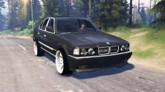 BMW 750Li (E38) v5.0 for Spin Tires
