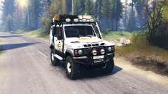 The UAZ 3170 Terra v2.0 for Spin Tires