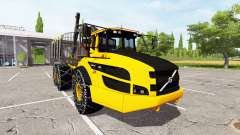 Volvo A40G forwarder v2.0 for Farming Simulator 2017