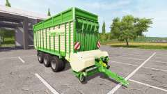 Krone ZX 550 GD v1.1.2.1 for Farming Simulator 2017