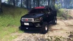 Toyota Hilux Double Cab 2016 v3.0 for Spin Tires