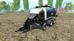 Krone BigPack 1290 black power for Farming Simulator 2015