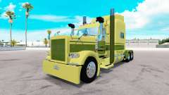 Skin Large car Cartage on the truck Peterbilt 38