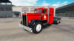 Skin West Coast on tractor Kenworth 521