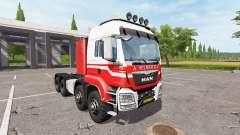 MAN TGS 41.570 8x8 A. Helmer B.V. for Farming Simulator 2017