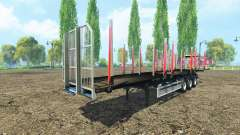 The timber Fliegl semi trailer v1.1