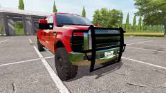 Ford F-350 daily driver for Farming Simulator 2017