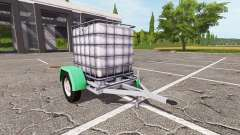 The trailer with water tank for Farming Simulator 2017