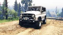 UAZ hunter 315195 v2.0 for Spin Tires