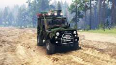 UAZ 315195 hunter turbodiesel expedition v4.0