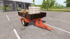 Service flatbed trailer for Farming Simulator 2017