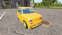 Fiat 126p tuning v1.1 for Farming Simulator 2017