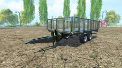 Flatbed trailer Fliegl
