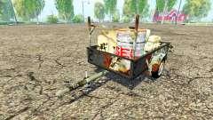 Single axle service trailer for Farming Simulator 2015