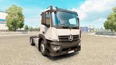 Mercedes-Benz Antos v1.1 for Euro Truck Simulator 2