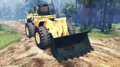 Caterpillar 994F for Spin Tires