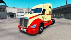 Skin on TLM tractor Kenworth T680 for American Truck Simulator